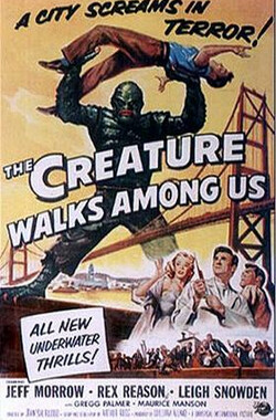 怪物就在我们之间 The Creature Walks Among Us (1956)