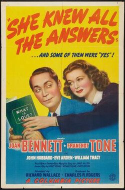 She Knew All the Answers (1941)