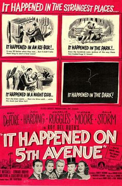 第五大道奇事 It Happened on 5th Avenue (1947)