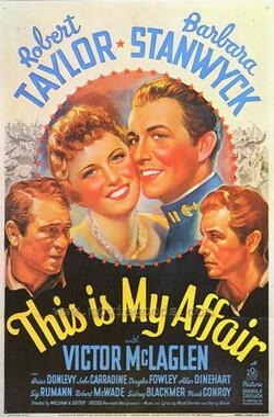 当仁不让 This Is My Affair (1937)