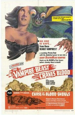 The Blood Beast Terror (1969)