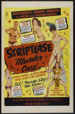 The Strip Tease Murder Case (1950)