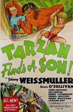 泰山得子 Tarzan Finds a Son! (1939)