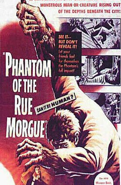 人猿魅影 Phantom of the Rue Morgue (1954)