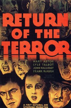 Return of the Terror (1934)