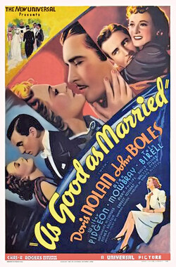 艳婚秘密 As Good as Married (1937)