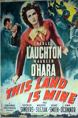 吾土吾民 This Land Is Mine (1943)