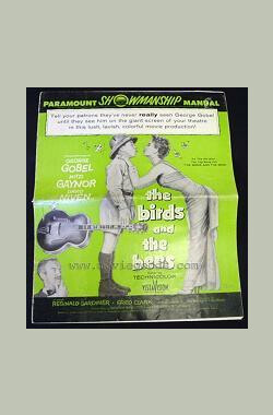 鸟与蜂 The Birds and the Bees (1956)