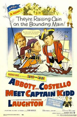 两傻寻宝记 Abbott and Costello Meet Captain Kidd (1952)