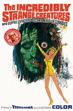 混乱僵尸 The Incredibly Strange Creatures Who Stopped Living and Became Mixed-Up Zombies!!? (1964)