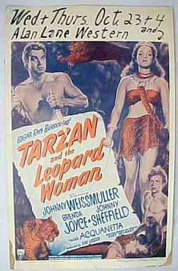 泰山和豹女 Tarzan and the Leopard Woman (1946)