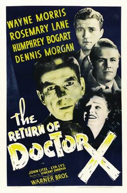 X博士归来 The Return of Doctor X (1939)