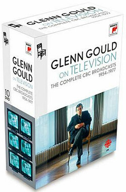 格伦·古尔德1954-1977 CBC录影纪念全集 (10 DVD) Glenn Gould on Television: The Complete CBC Broadcasts 1954-1977 (2011)