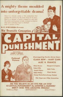 Capital Punishment (1925)