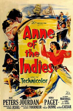 土海女霸王 Anne of the Indies (1951)