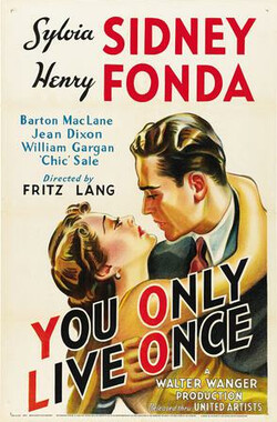 你只活一次 You Only Live Once (1937)