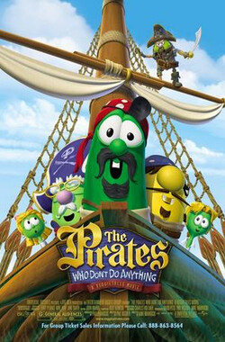 无所事事的海盗 The Pirates Who Don't Do Anything: A VeggieTales Movie (2008)