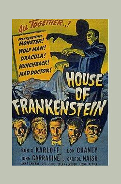 科学怪人之家 House of Frankenstein (1944)