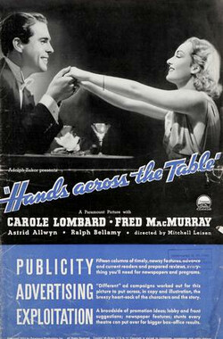 桌子上的手 Hands Across the Table (1935)