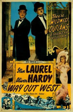 西部之路 Way Out West (1937)
