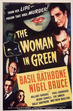 绿衣女子 The Woman in Green (1945)