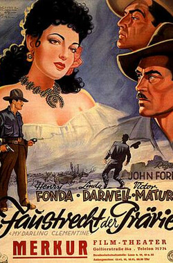 侠骨柔情 My Darling Clementine (1946)