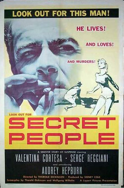 双姝艳 The Secret People (1952)
