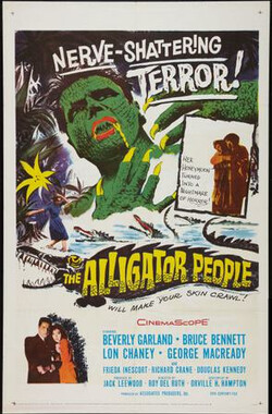 鳄鱼变 The Alligator People (1959)