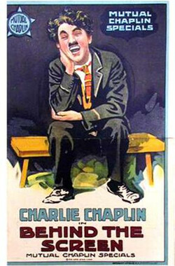 银幕背后 Behind The Screen (1916)