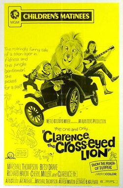 斗鸡眼狮子 Clarence, the Cross-Eyed Lion (1965)