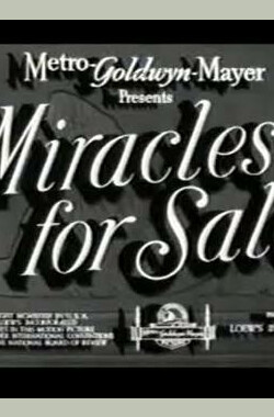 Miracles for Sale (1939)