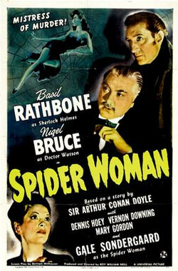 福尔摩斯和蜘蛛女 The Spider Woman (1944)