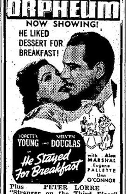 He Stayed for Breakfast (1941)