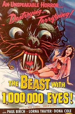 千眼怪兽 The Beast with a million Eyes (1955)