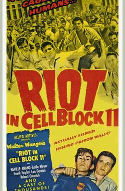 牢狱大暴动 Riot in Cell Block 11 (1954)