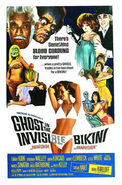 隐藏在比基尼岛的鬼魂 The Ghost in the Invisible Bikini (1966)