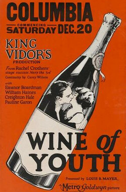 青春美酒 Wine of Youth (1924)