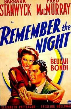 今宵难忘 Remember the Night (1940)